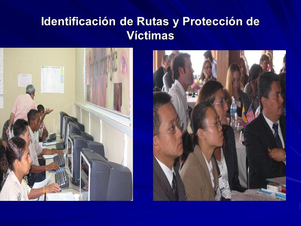 Identificación de Rutas y Protección de Víctimas