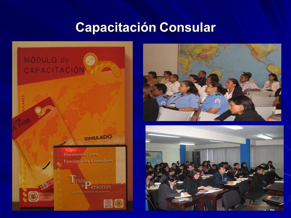 Capacitación Consular