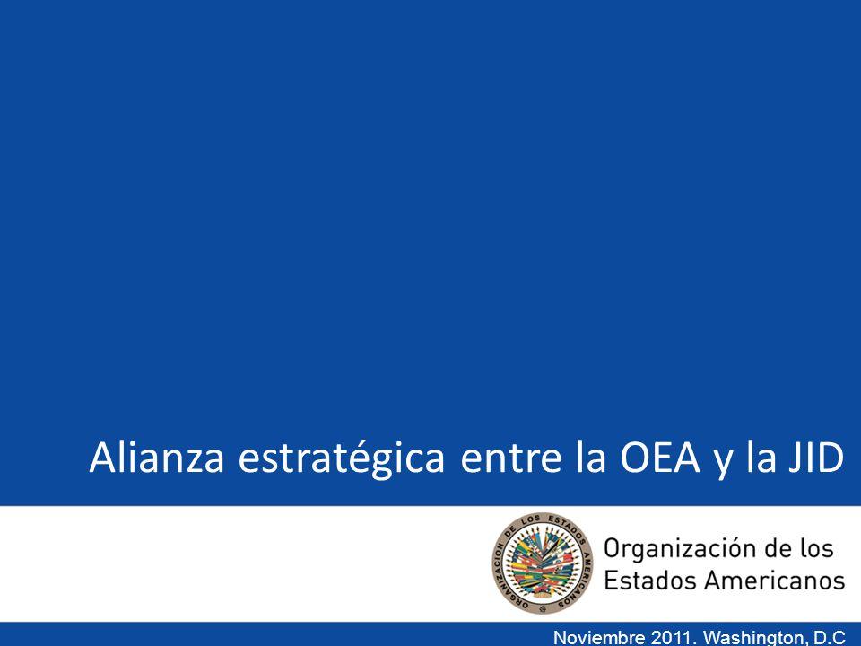 Antecedentes De acuerdo con el Artículo 53 de la Carta de la OEA y el Estatuto de la Junta Interamericana de Defensa (AG/RES.