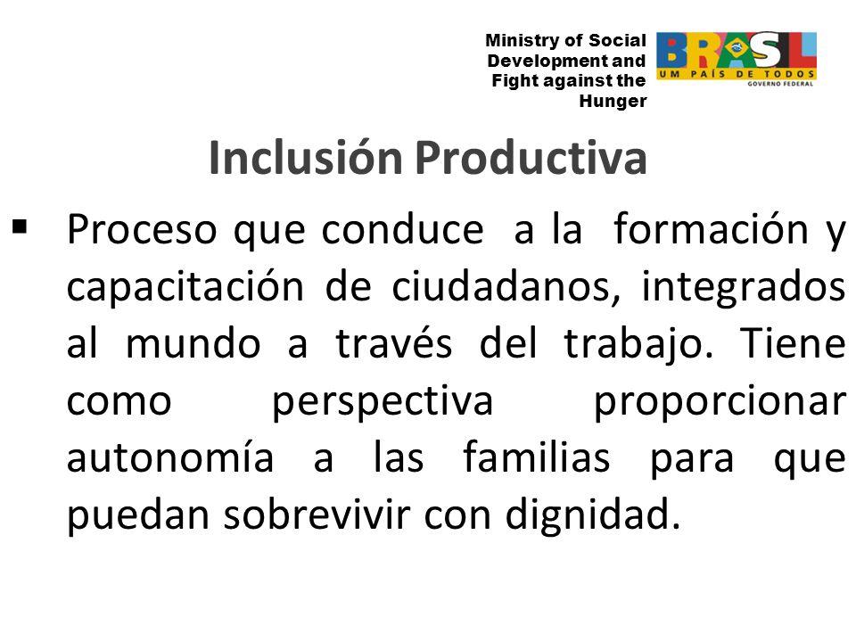Ministry of Social Development and Fight against the Hunger Ministry of Social Development and Fight against Hunger Inclusión Bancaria de los Beneficiarios del Bolsa Familia