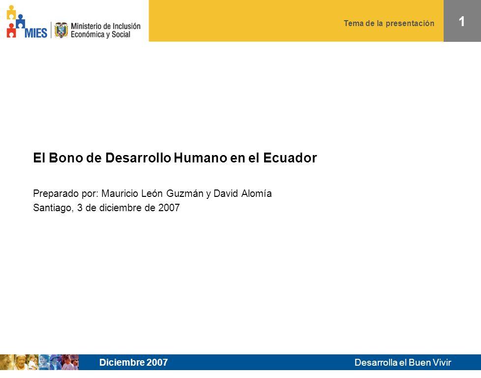 Desarrolla el Buen Vivir Tema de la presentación CUMPLIMIENTO DE CORRESPONSABILIDADES Y SANCIONES - SALUD
