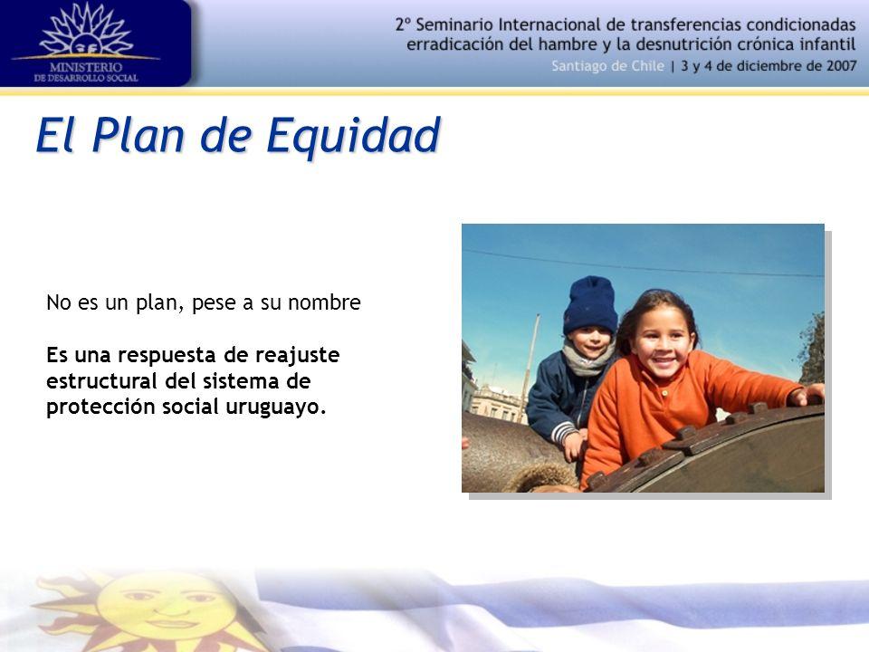 El Plan de Equidad No es un plan, pese a su nombre Es una respuesta de reajuste estructural del sistema de protección social uruguayo.