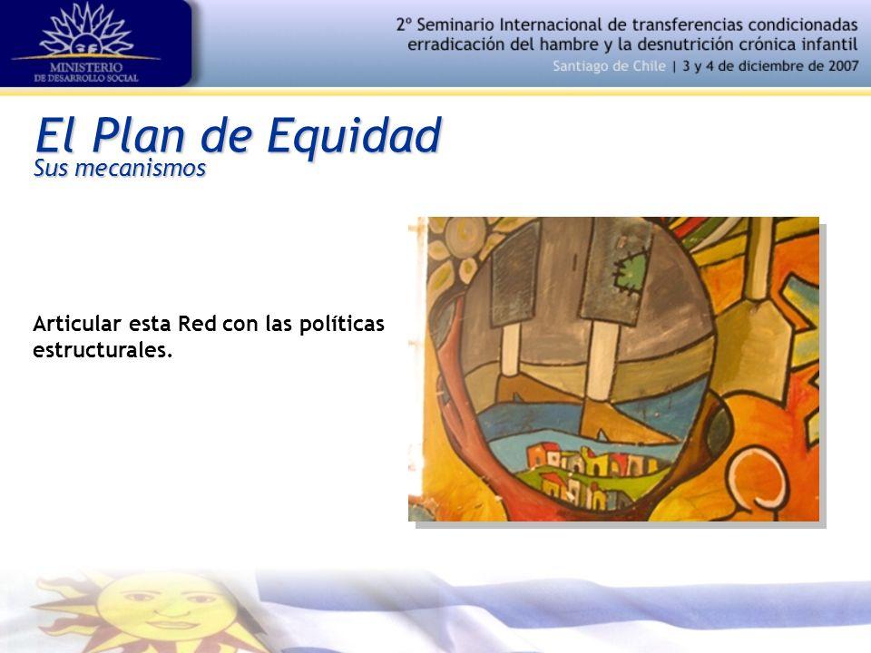El Plan de Equidad Articular esta Red con las políticas estructurales. Sus mecanismos