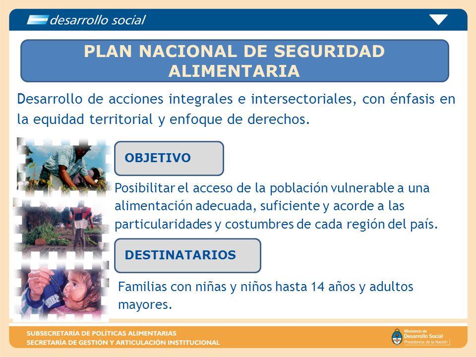 Desarrollo de acciones integrales e intersectoriales, con énfasis en la equidad territorial y enfoque de derechos. Posibilitar el acceso de la poblaci