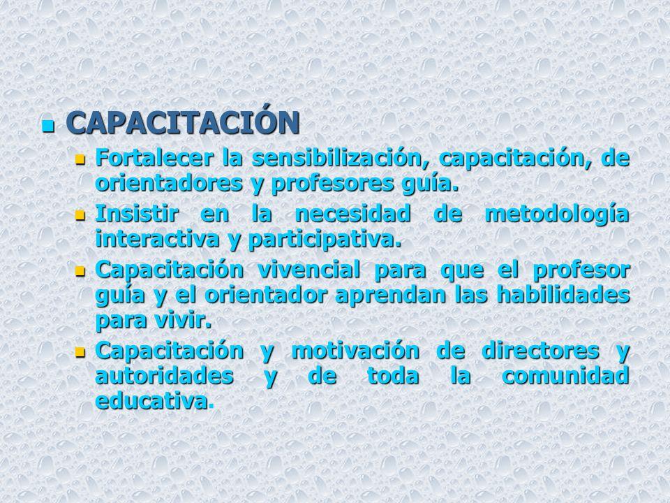 TRAZANDO EL CAMINO EVALUACIÓN CUALITATIVA RECOMENDACIONES PARA 2004 POLÍTICAS POLÍTICAS Necesidades de inclusión en el Ministerio de Educación de polí
