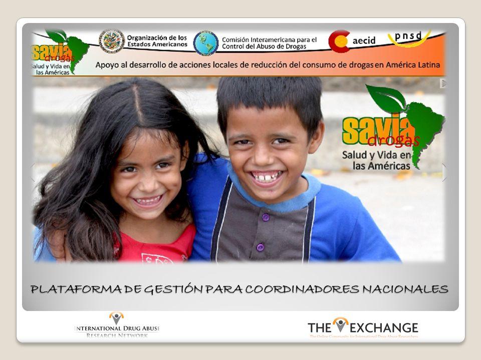 La Plataforma SAVIA es una herramienta de gestión que facilita el intercambio de documentos, noticias y eventos con los miembros del equipo de cada país.