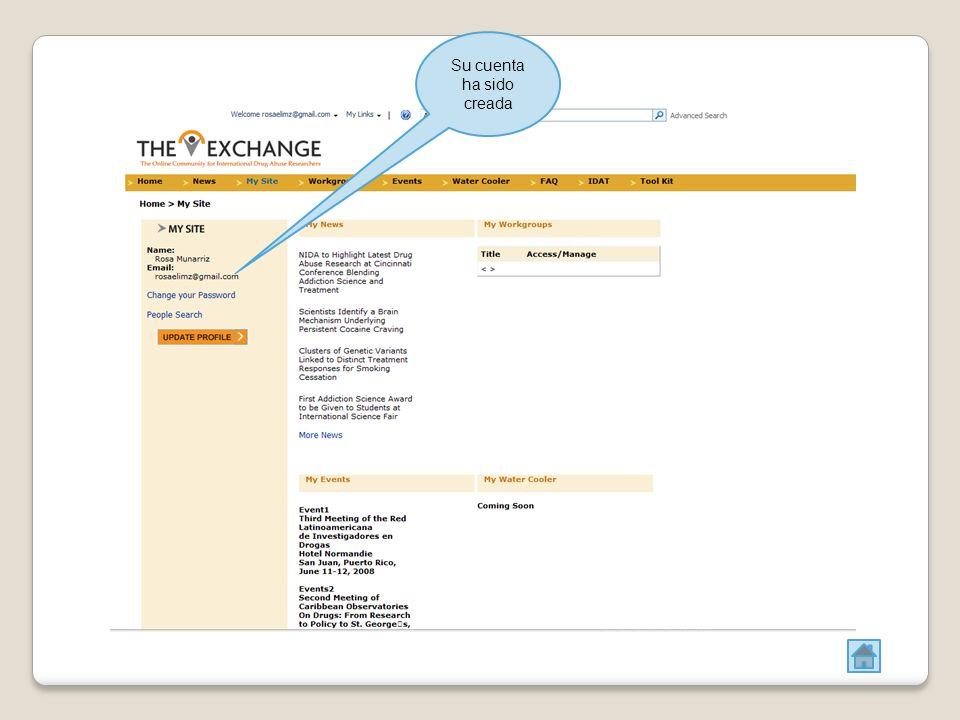 PARA CREAR UN ANUNCIO Dar click en NEW y luego en NEW ITEM Una nueva pagina aparecerá y deberá llenar el TITULO y una breve DESCRIPCIÓN del anuncio.