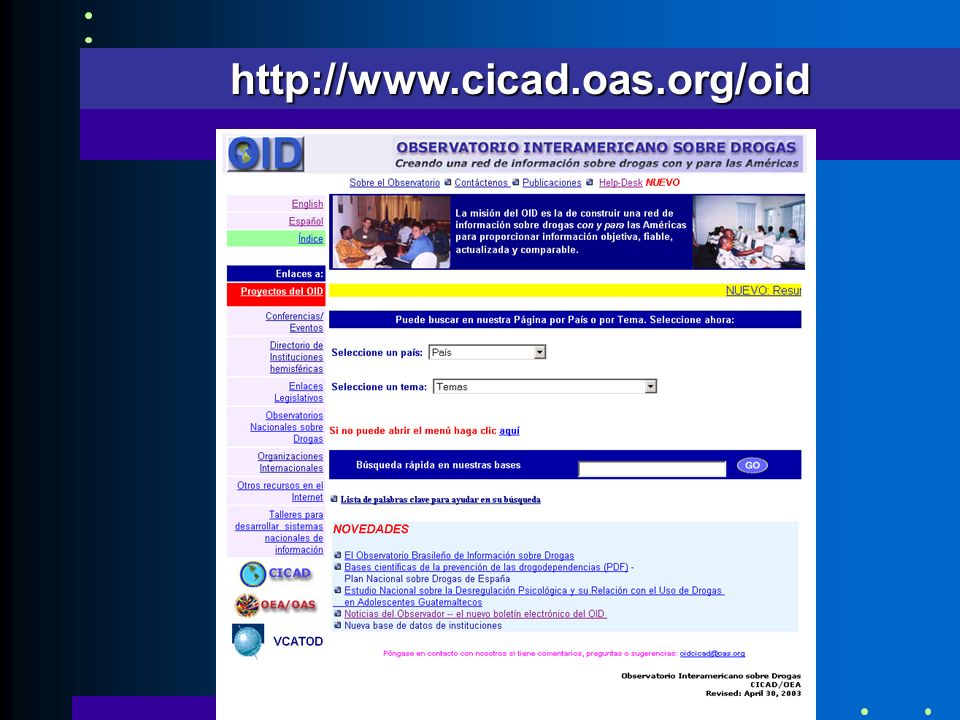 http://www.cicad.oas.org/oid