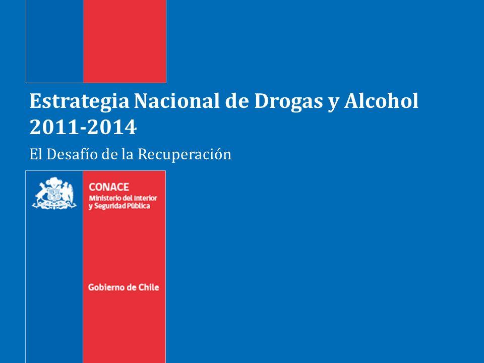 Gobierno de Chile | Ministerio del Interior | CONACE 2 Estrategia Nacional de Drogas y Alcohol (ENDA)2011-2014 La ENDA define las líneas de acción a desarrollarse en el periodo de Gobierno de 2011- 2014.