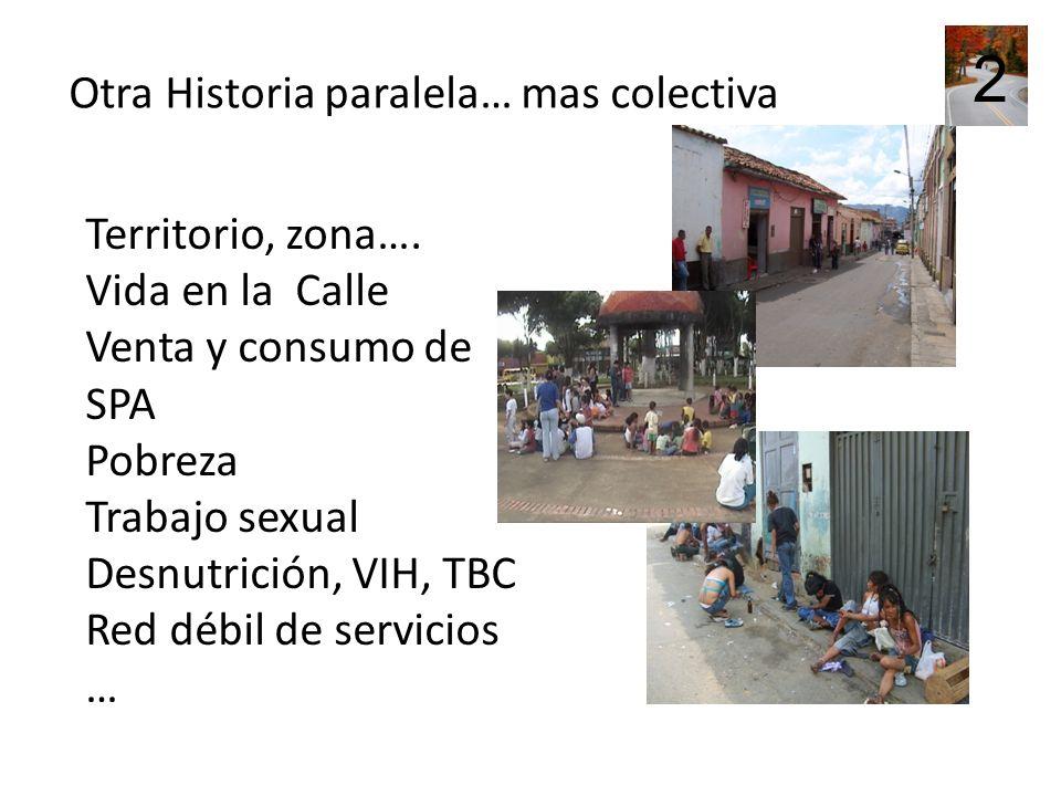 Espacios posibles Sujetos con deseos y habilidades Liderazgos Formas de solidaridad Ayuda Posibilidad de compartir La calle, espacios La otra parte de la 2 historia