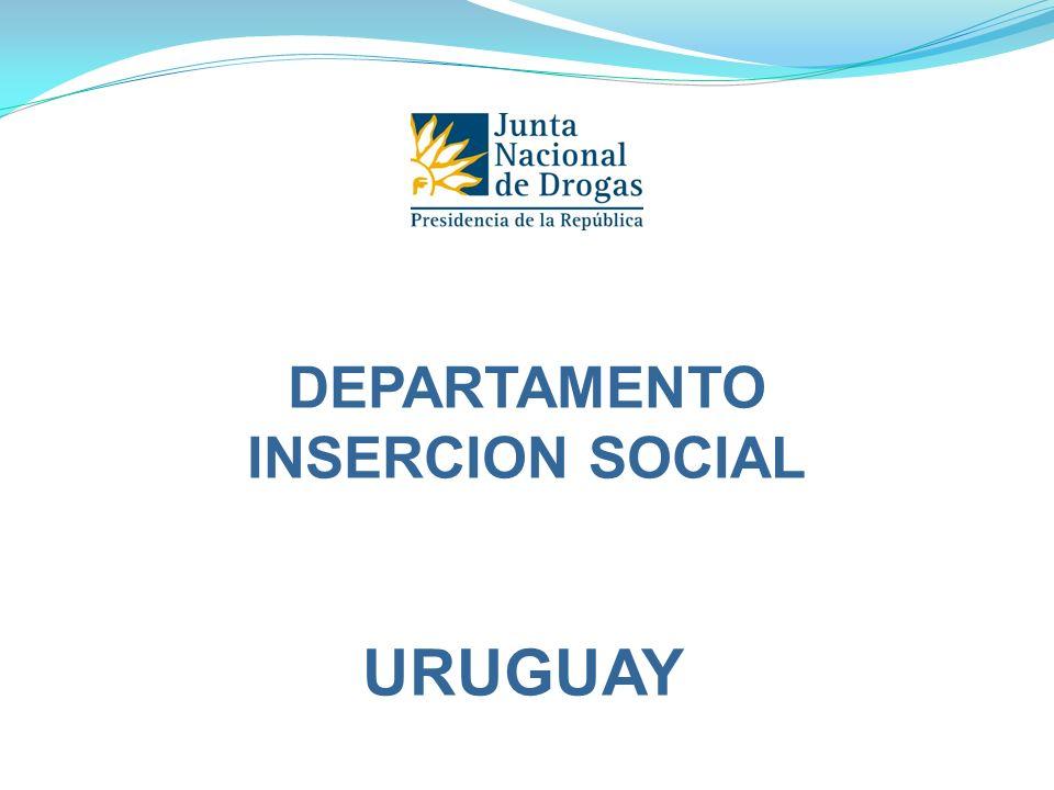 DEPARTAMENTO INSERCION SOCIAL URUGUAY