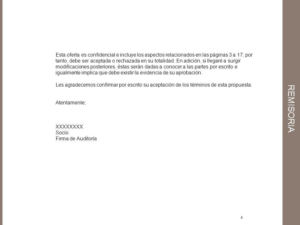 15 OTRAS CONSIDERACIONES 1.La administración de la Compañía es responsable de la preparación y la adecuada presentación de los estados financieros de acuerdo con los principios de contabilidad generalmente aceptados en Colombia.