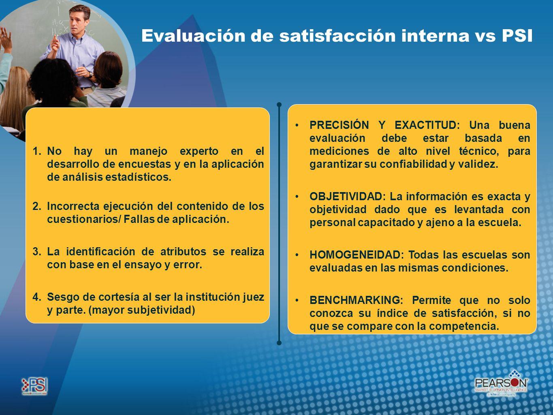 PRECISIÓN Y EXACTITUD: Una buena evaluación debe estar basada en mediciones de alto nivel técnico, para garantizar su confiabilidad y validez. OBJETIV