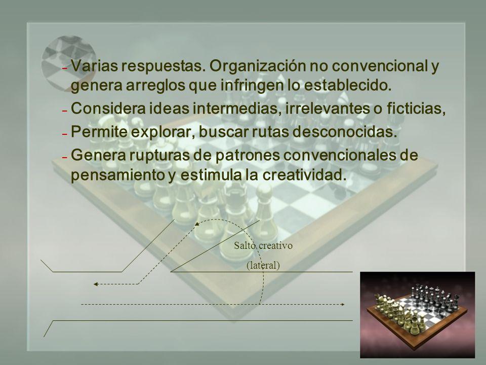 – Varias respuestas. Organización no convencional y genera arreglos que infringen lo establecido.