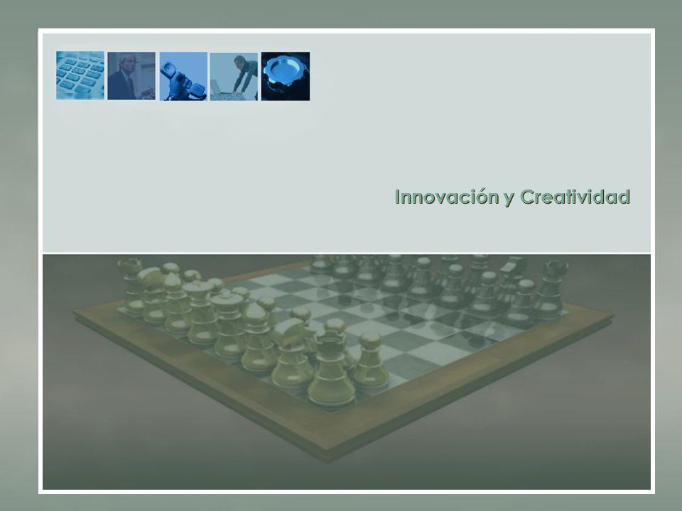 Innovación y Creatividad Innovación y Creatividad