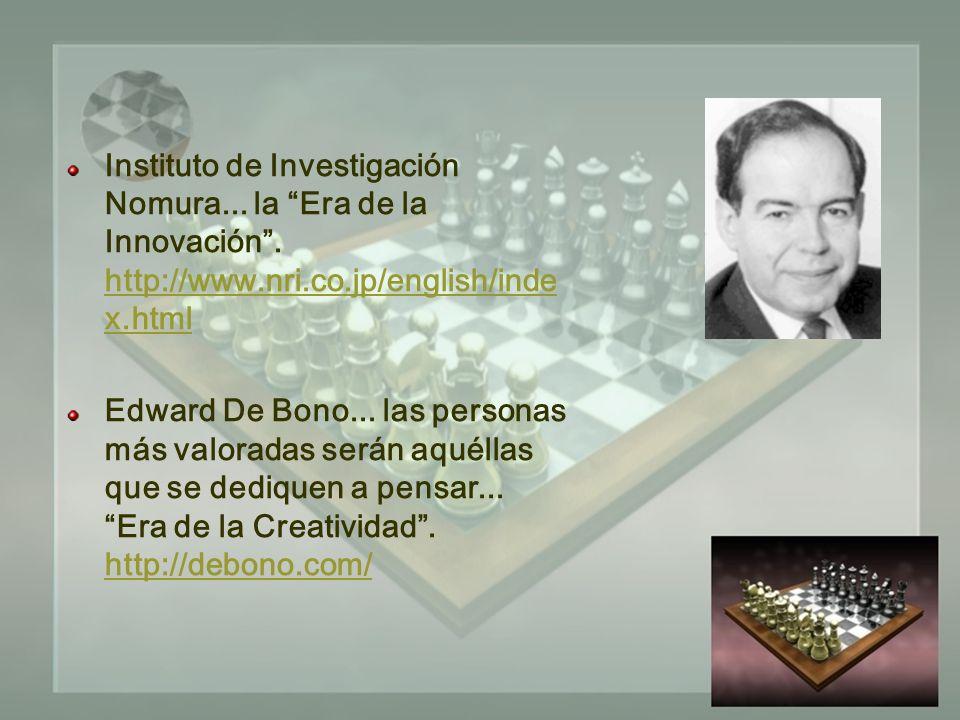 Instituto de Investigación Nomura... la Era de la Innovación.