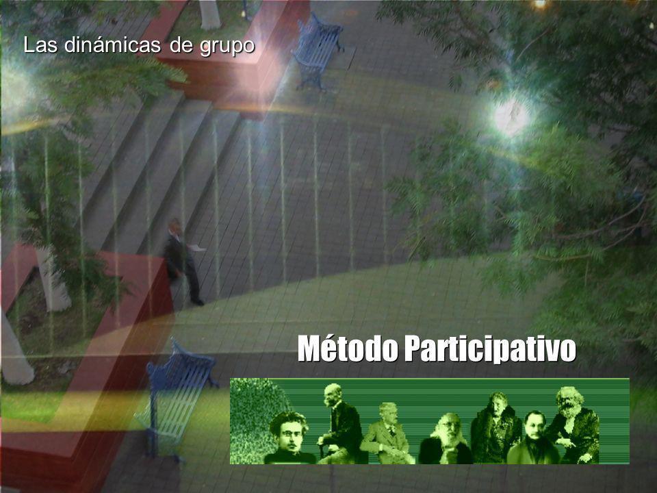 Método Participativo Las dinámicas de grupo