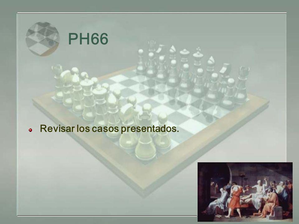 PH66 Revisar los casos presentados.