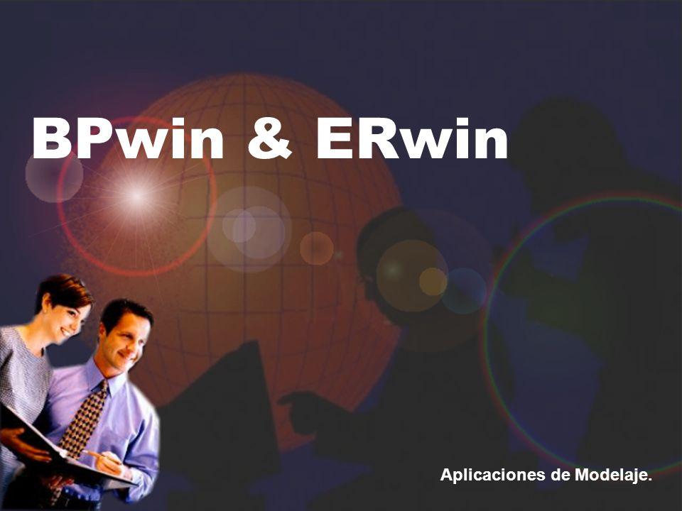 BPwin & ERwin Aplicaciones de Modelaje.