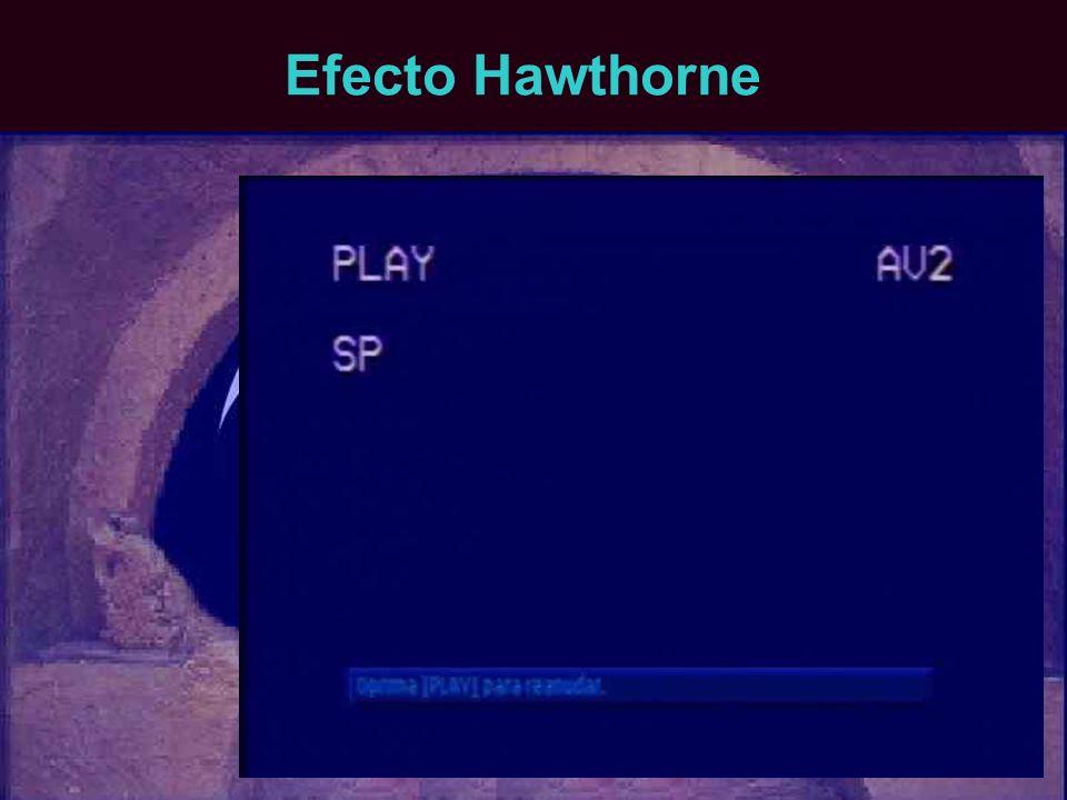 Efecto Hawthorne
