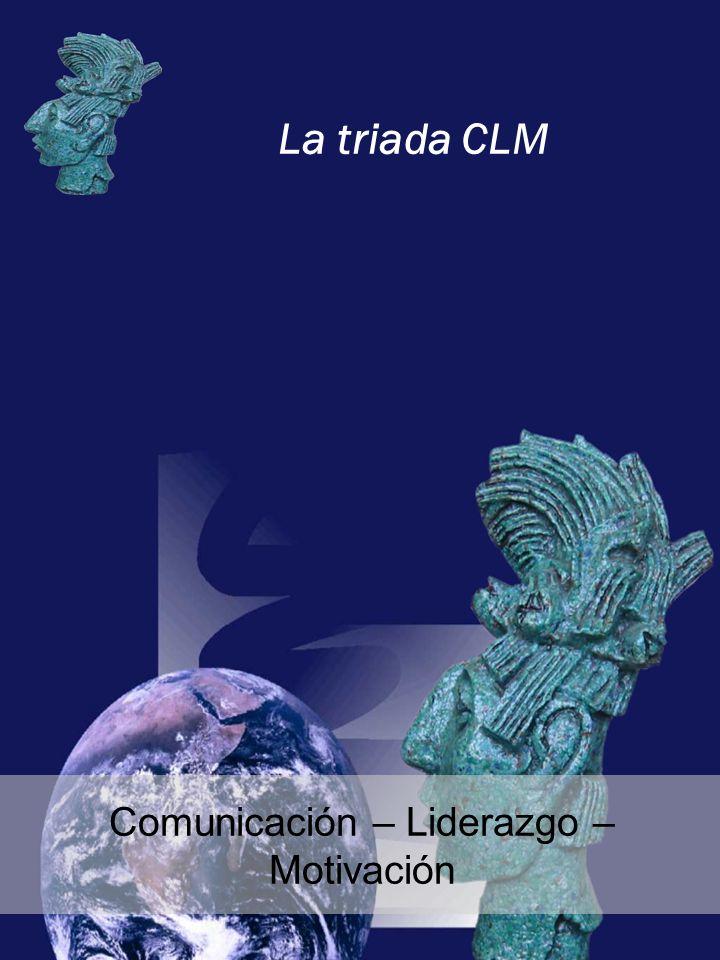 La triada CLM Comunicación – Liderazgo – Motivación