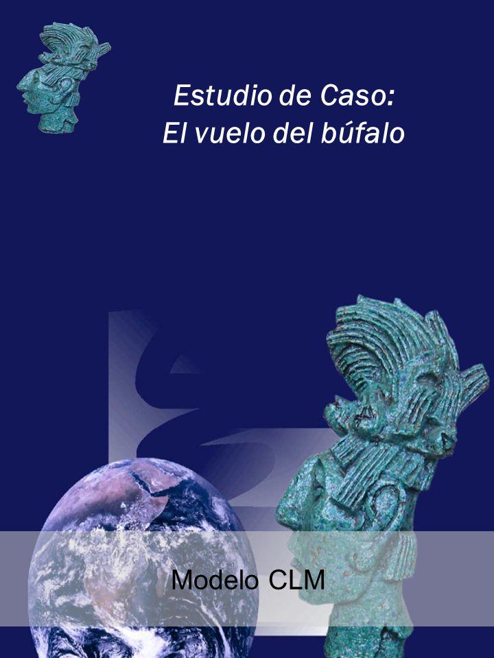 Estudio de Caso: El vuelo del búfalo Modelo CLM