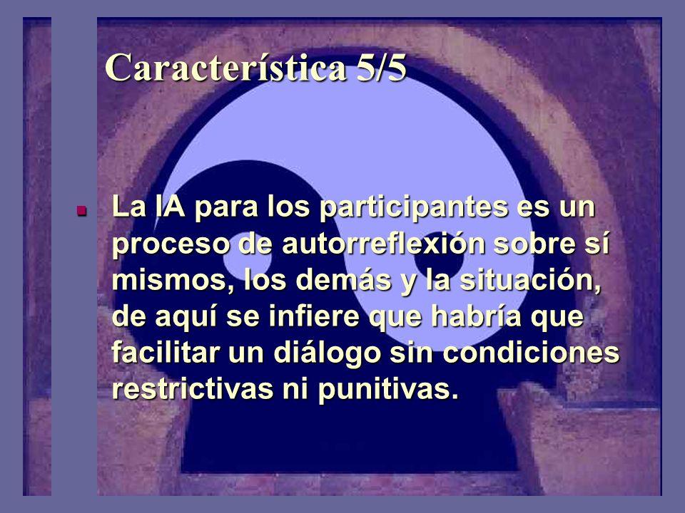 Característica 4/5 El resultado es mas una interpretación que una explicación dura.