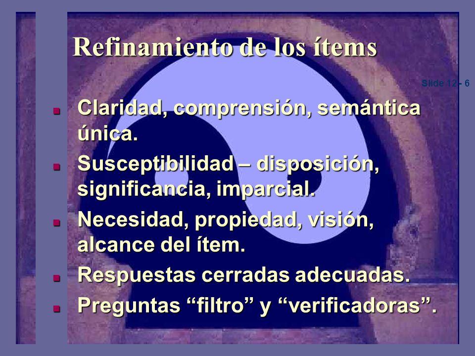 Diseño de instrumentos Identificación de un marco para el desarrollo de las variables.