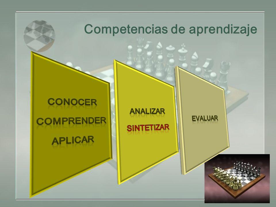 Competencias de aprendizaje