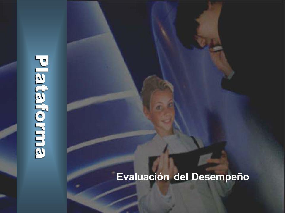 Plataforma Evaluación del Desempeño