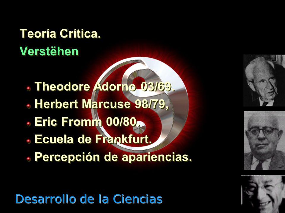 Desarrollo de la Ciencias Neopositivismo lógico. Erklaren B. Russell 72/70 & K. Popper 02/94. Círculo de Viena. Lógica enunciados. Verificación empíri