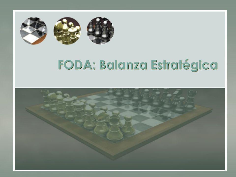 FODA: Balanza Estratégica