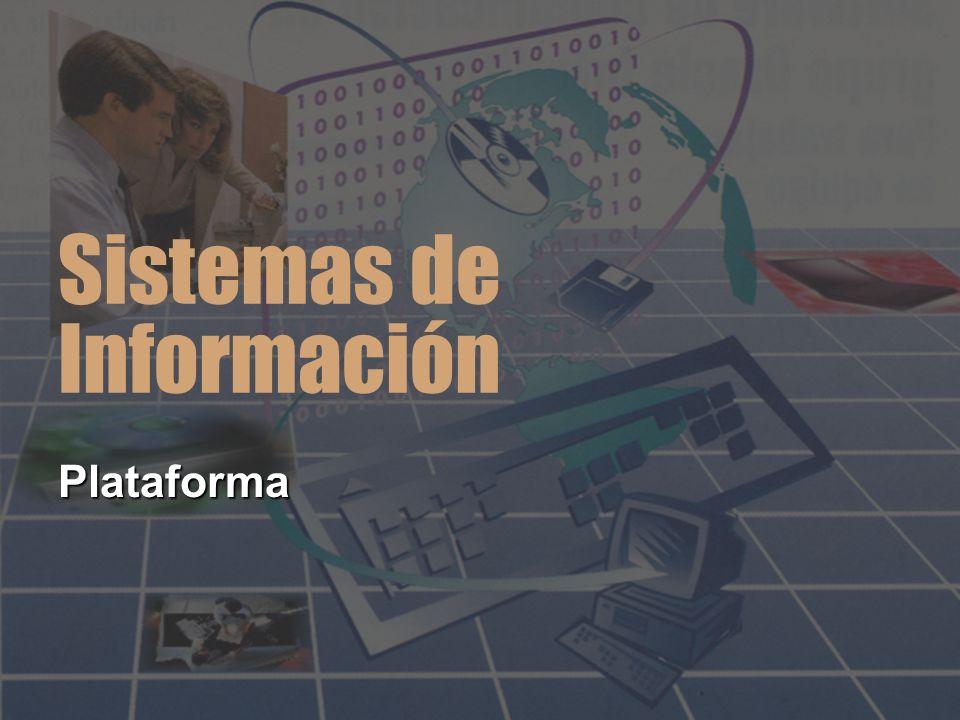 Sistemas de Información PlataformaPlataforma