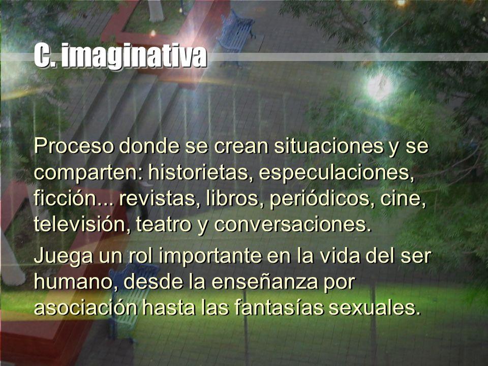 C. imaginativa