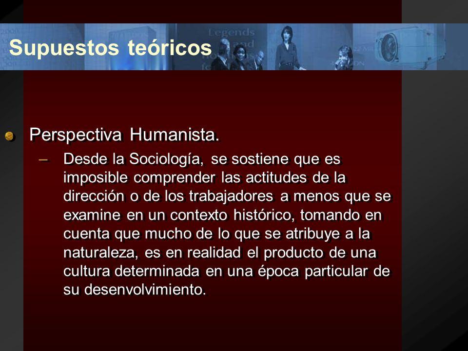 Supuestos teóricos Perspectiva Humanista. –Al entendernos con seres humanos nos enfrentamos a una mezcla dinámica de proporciones ignoradas de lo cono