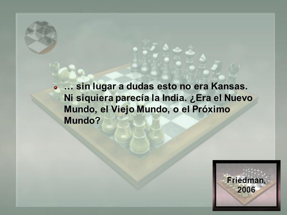 ETDN_2009 ¿Kansas? ¿México? ¿La tierra? ¿Cuál es el significado del aplanamiento?