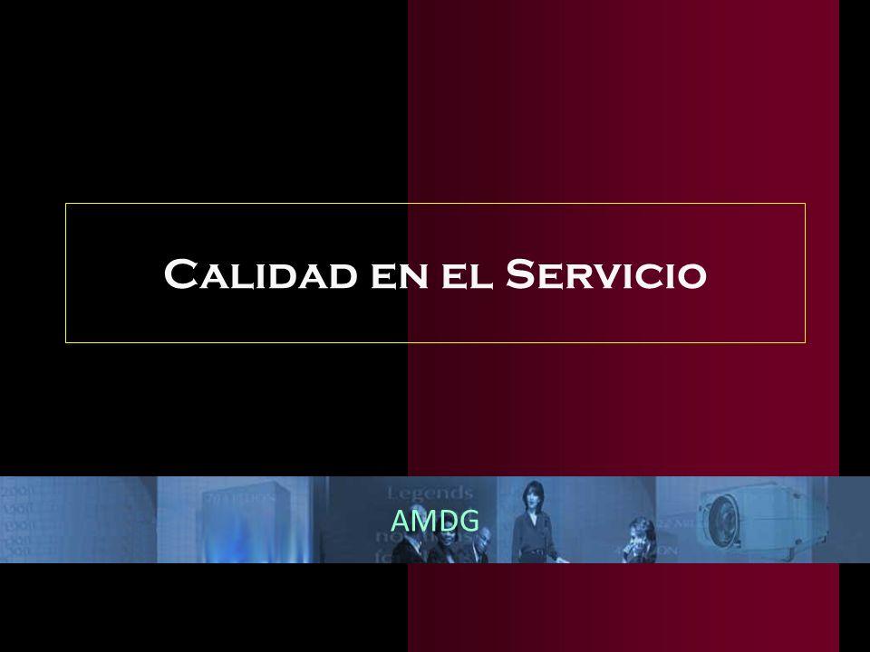 Calidad en el Servicio AMDG