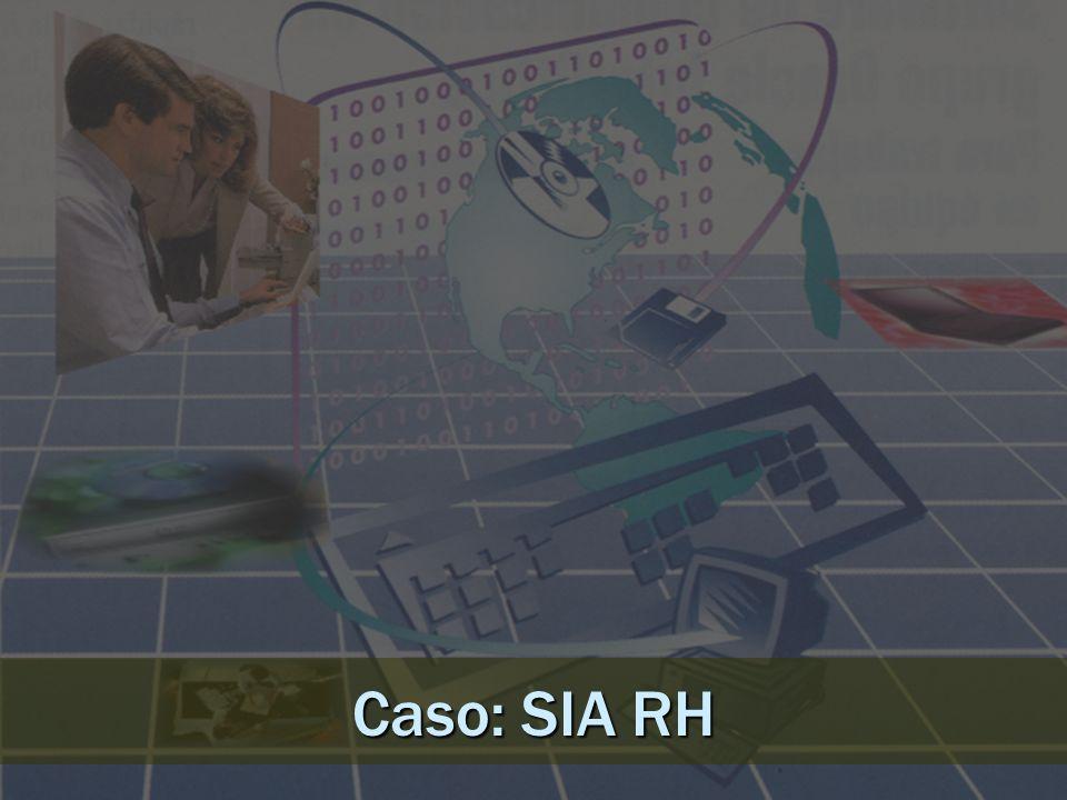 Tipos de SIAs SIA Financiero. SIA de la Producción.