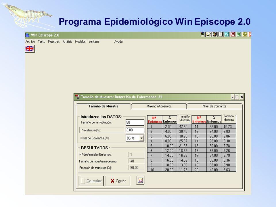 Programa Epidemiológico Win Episcope 2.0