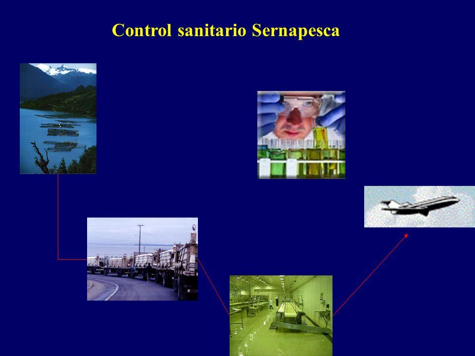 Control sanitario Sernapesca