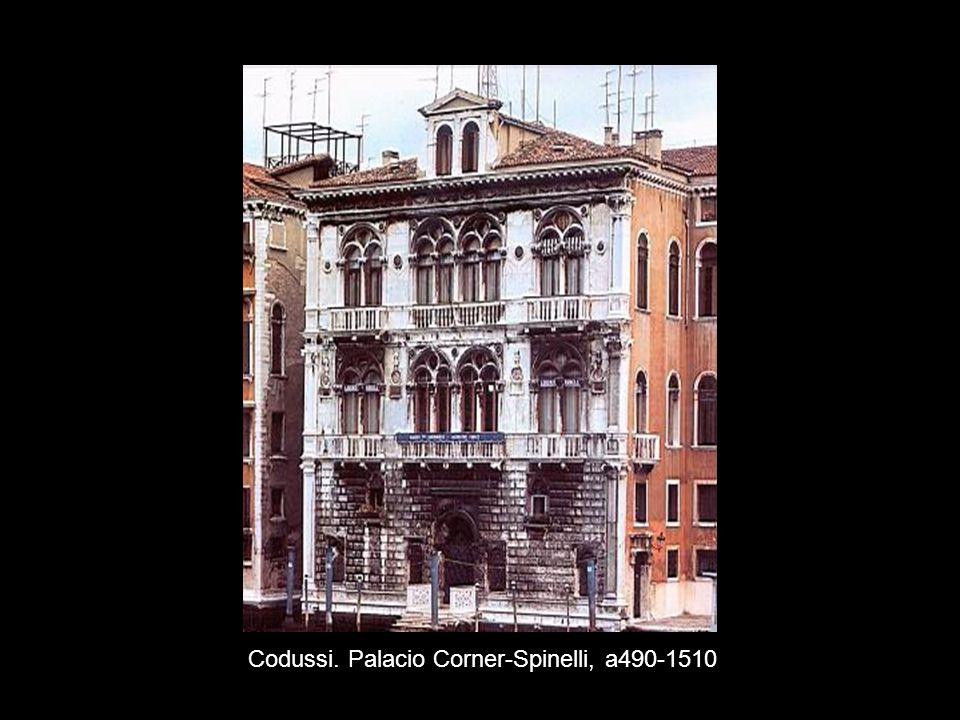 Codussi. Palacio Corner-Spinelli, a490-1510