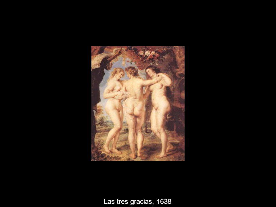 Las tres gracias, 1638