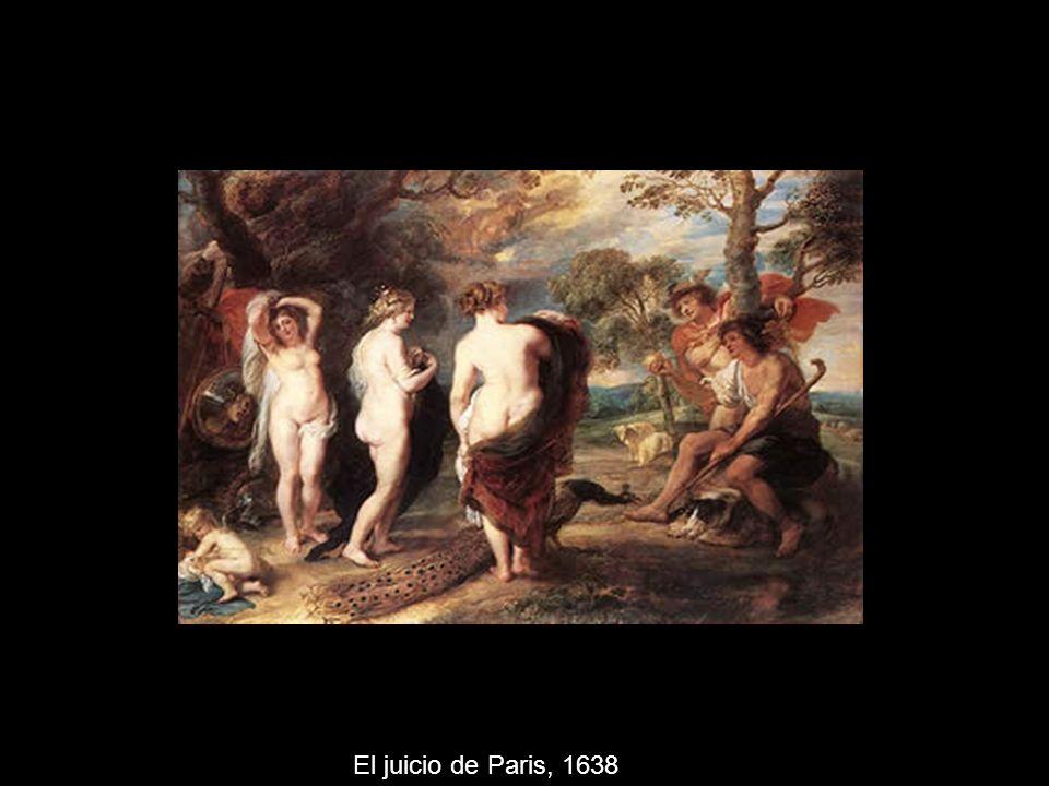 El juicio de Paris, 1638