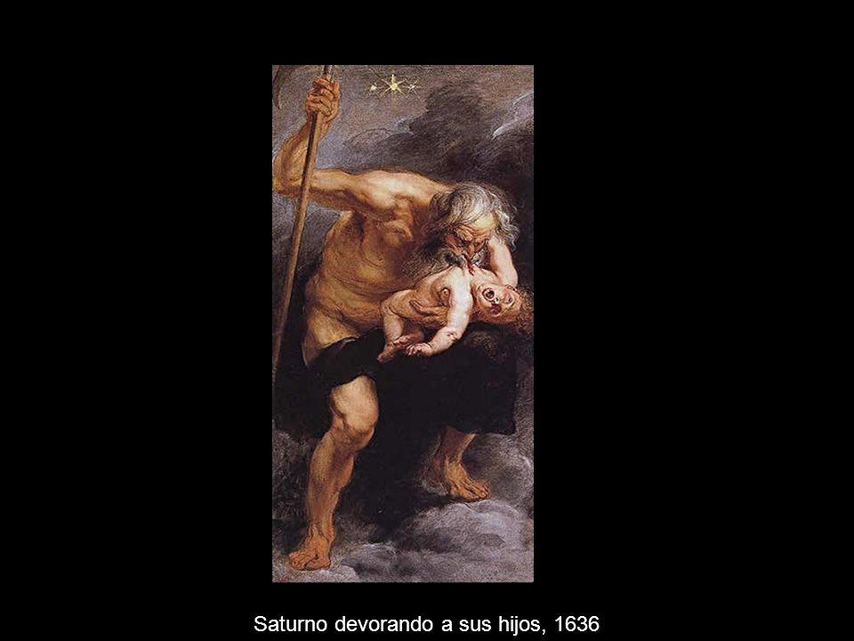 Saturno devorando a sus hijos, 1636