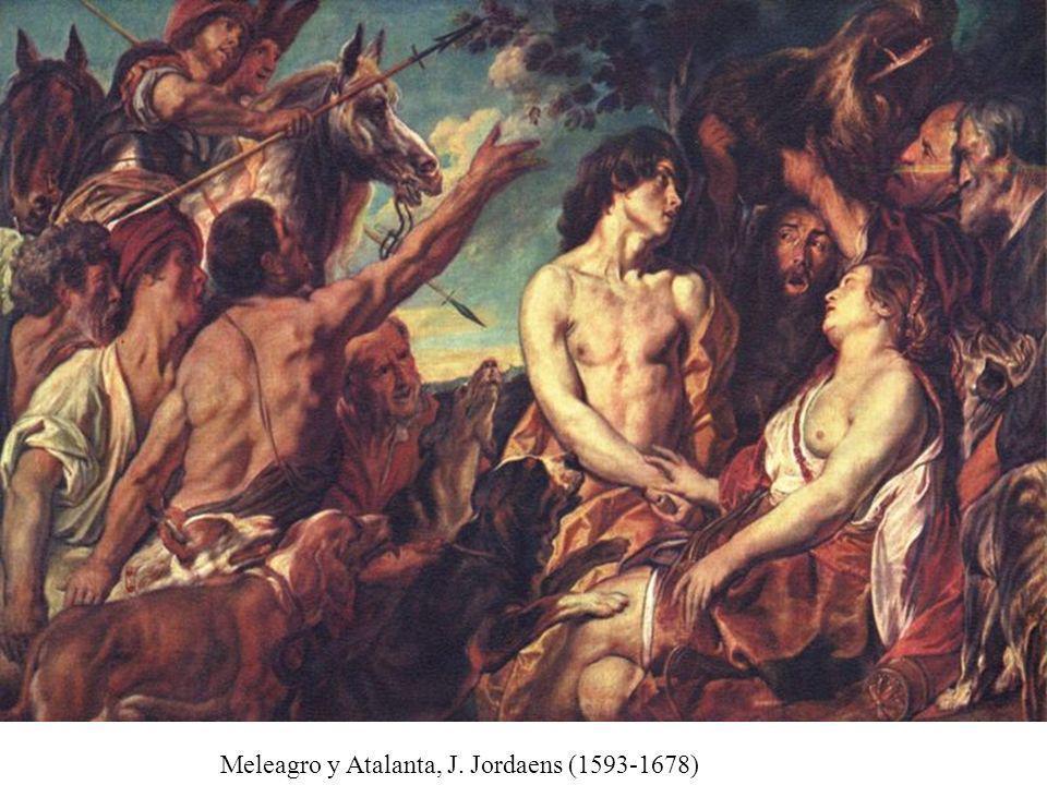 Meleagro y Atalanta, J. Jordaens (1593-1678)