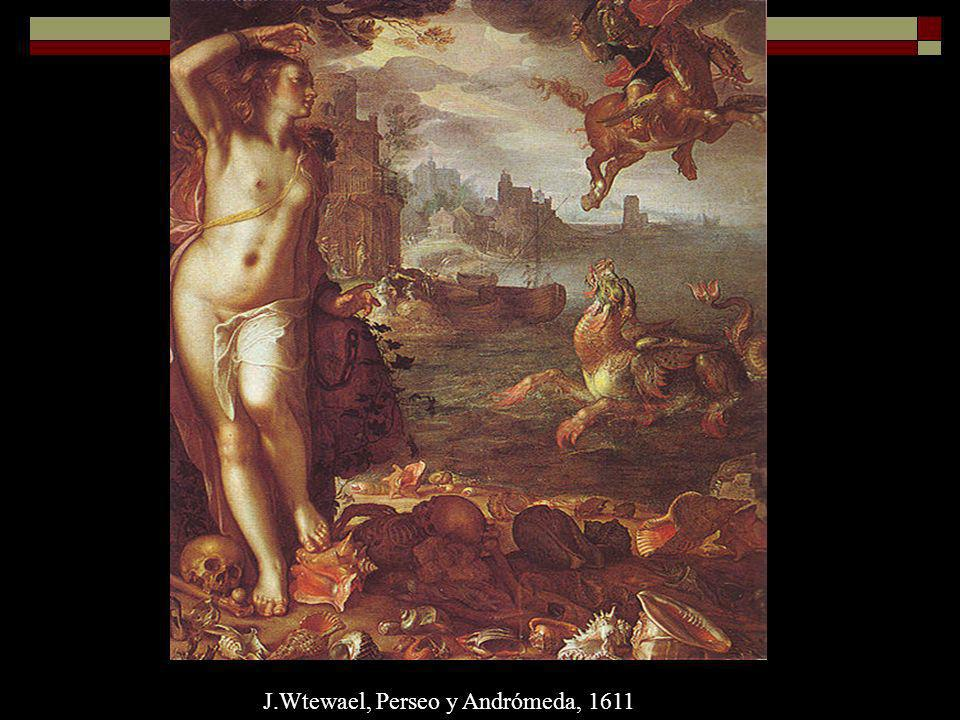 J.Wtewael, Perseo y Andrómeda, 1611