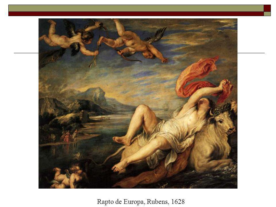 Rapto de Europa, Rubens, 1628