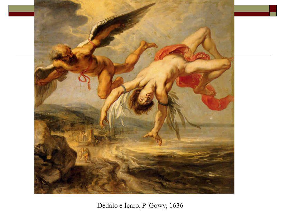 Dédalo e Ícaro, P. Gowy, 1636