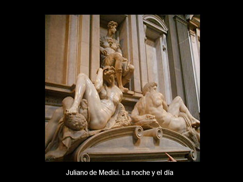 Juliano de Medici. La noche y el día