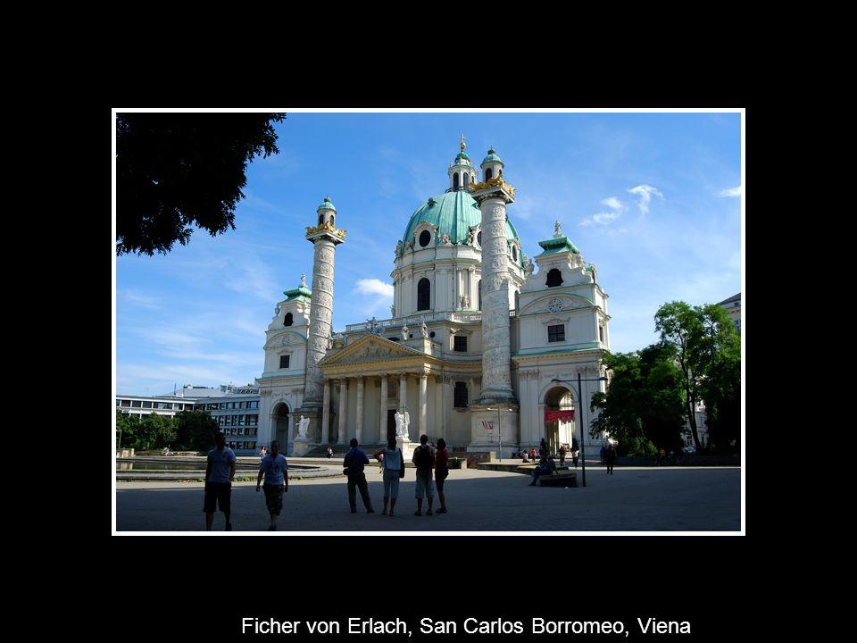 Ficher von Erlach, San Carlos Borromeo, Viena